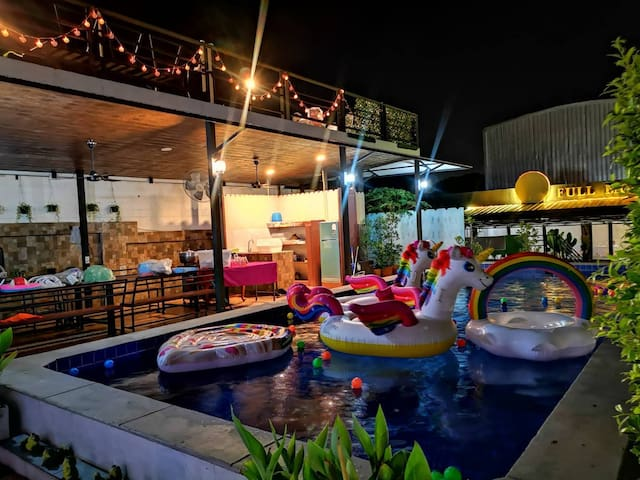Resort pool villa party 9 ห้องนอน