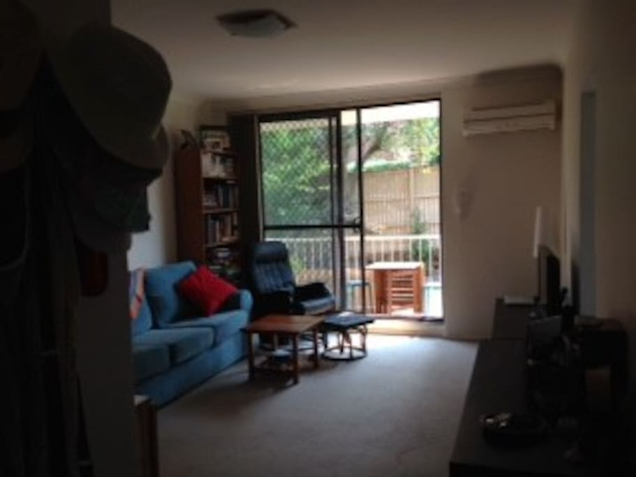 Living room (view from front door)