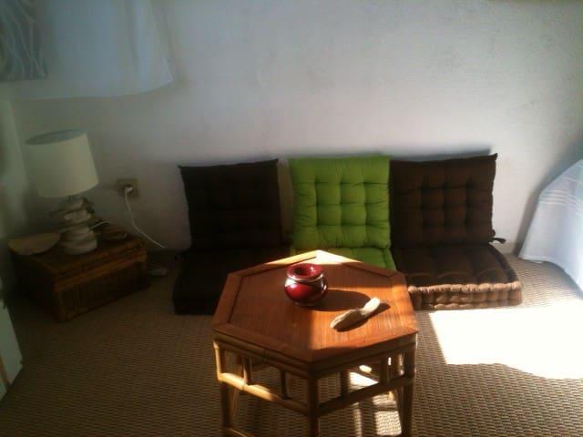 Chambre zen au pied du Corum