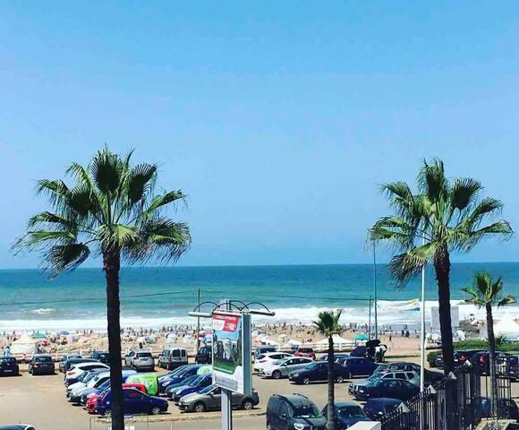 Suite Room MIMI vue sur Mer à Casablanca