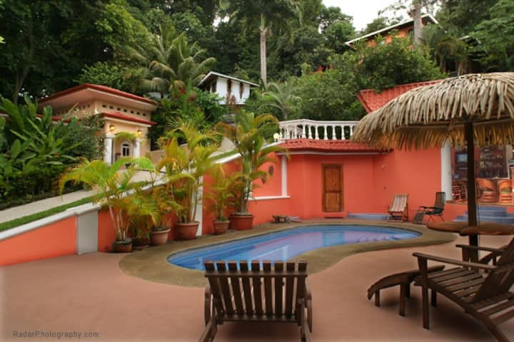 Villa Las Rocas -Watch Whales and Monkeys pass by