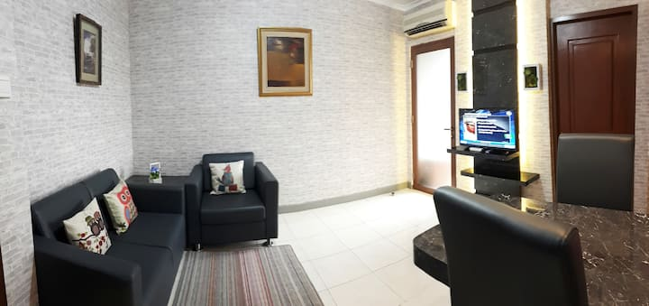 MAJESTY APARTMENT - 2BR, Bandung - NEW RENOVATED