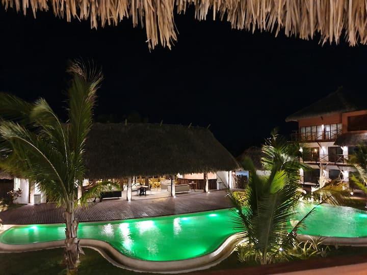 Flat luxuoso no Villas BobZ- Barra Grande, Piauí