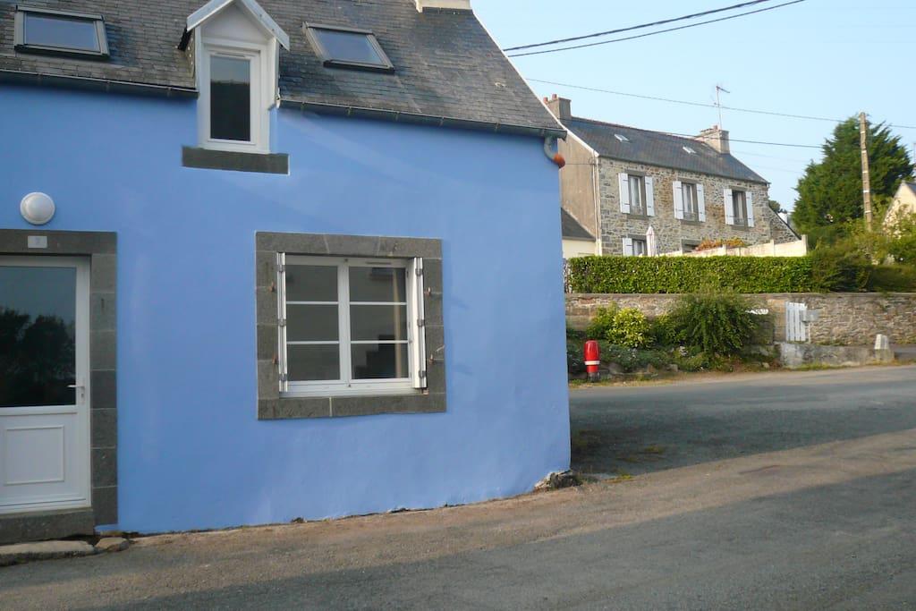 Maison de p cheur maisons louer h pital camfrout bretagne france - Maison pecheur bretagne ...