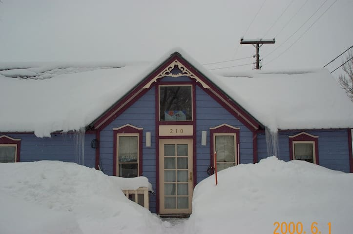 Renovated miners cottage in town. - Crested Butte - Hus