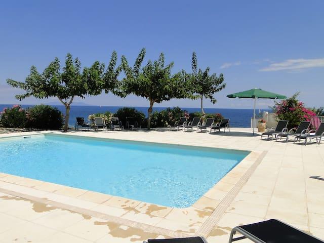 maison vue mer, piscine, cap corse - Luri - Talo