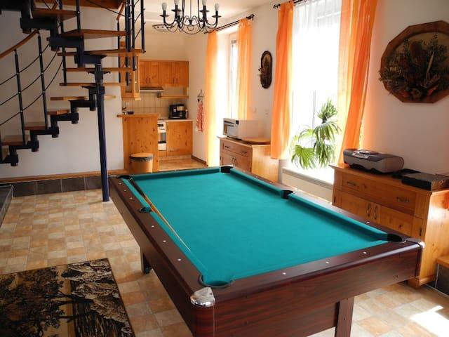 Modern House w.pool in quiet area  - Budíkov - House