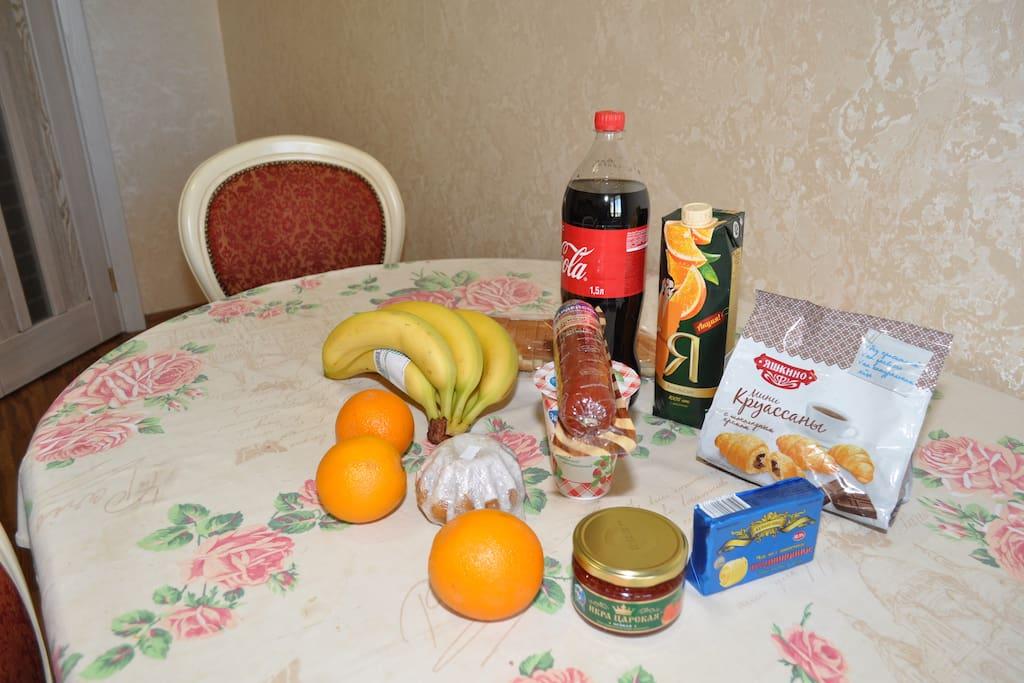 Завтрак для одного человека на 1000 рублей, включая икру красную, может форсироваться , под каждого, человека