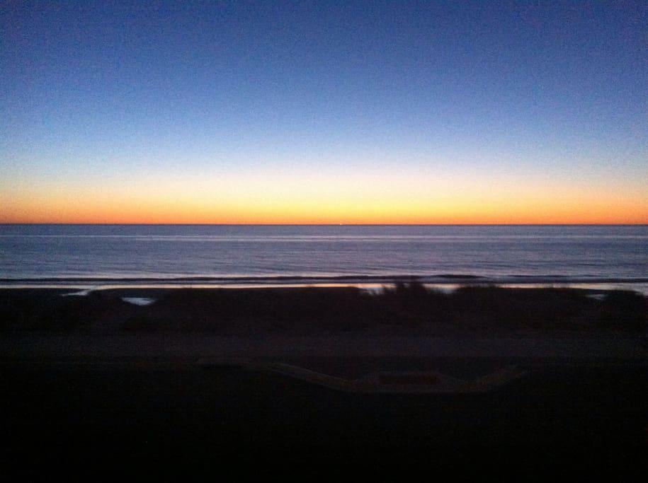 Magic sunsets every night.