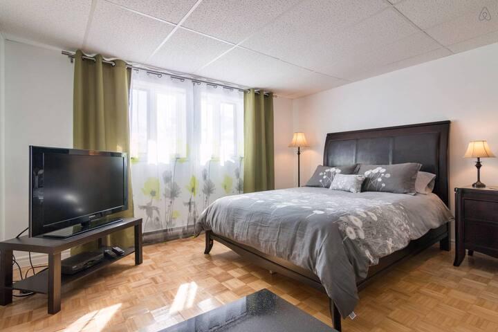 Joli studio Lévis Québec - Lévis - Lägenhet
