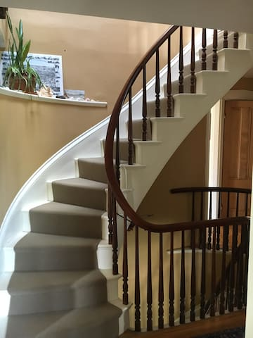 Stair hall to 3rd Floor