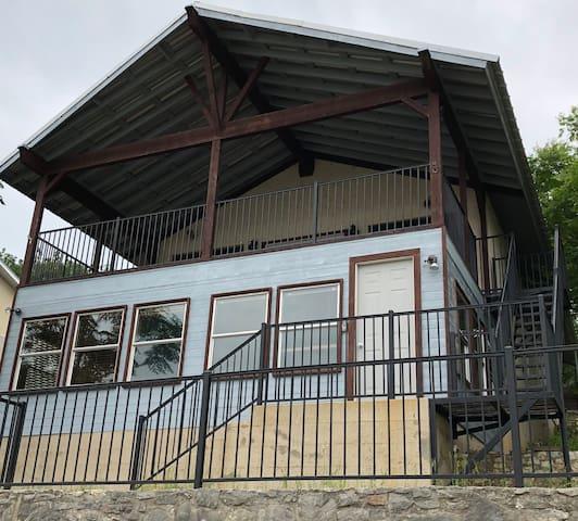 Point Comfort House on Medina Lake