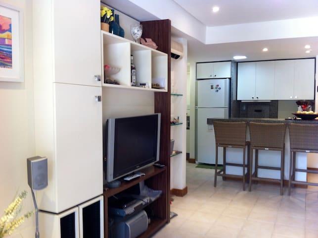 Lindo Flat com excelente localização! Itaparica BA - Itaparica - Apartment