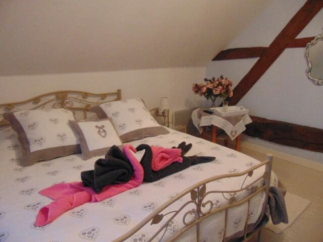 Chambre Chambly lit 160  pour 2 prs - Notre-Dame-du-Touchet