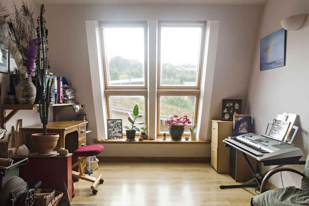 Study/music area