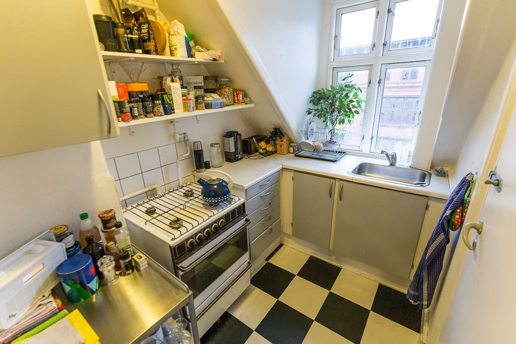 Small but good Kitchen