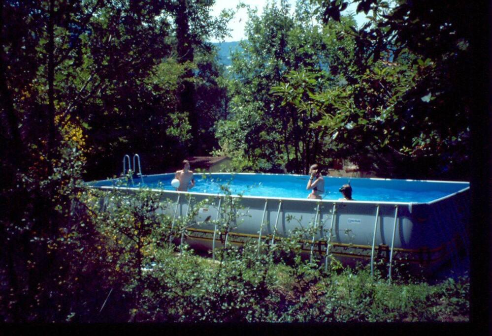 la piscine hors sol 8 m X 4m