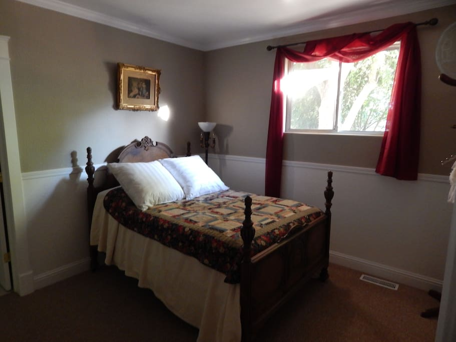 Room one: double bed