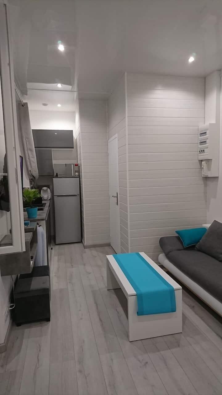 Appartement 25m2 type 2 centre ville