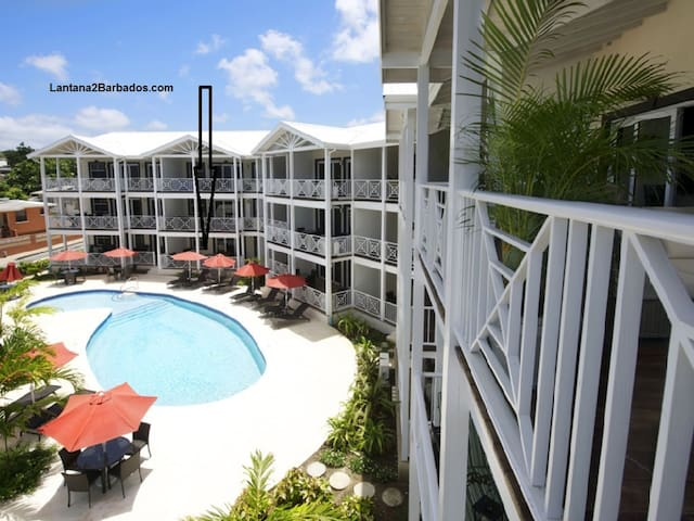 4 Bed Condo opp. Beach, St. James.