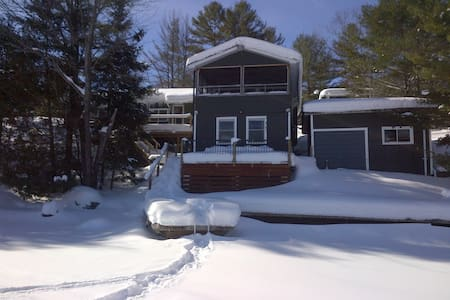 Muskoka Cozy Winter Ski Chalet - Port Severn - Bungalo