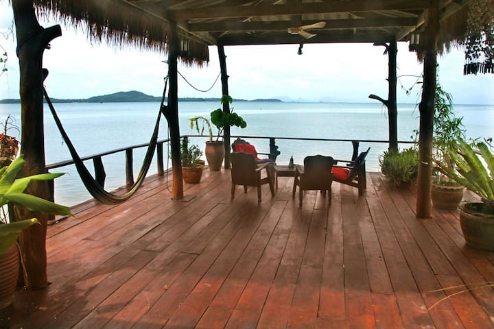 deck at coconut house