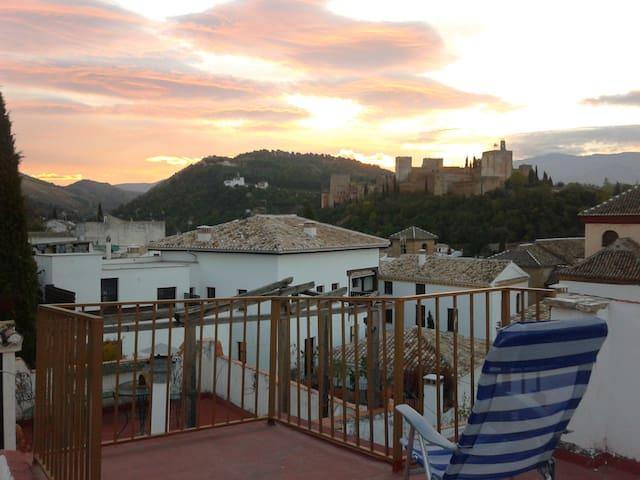 Albaicín, vistas maravillosas! - Granada - Bed & Breakfast