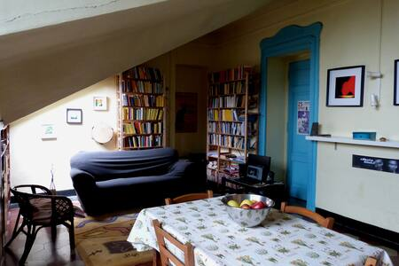Camera in ampio appartamento zona San Salvario - Torino - Apartemen