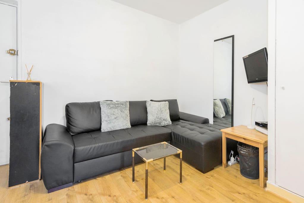 140 x 200 cm sofa-bed
