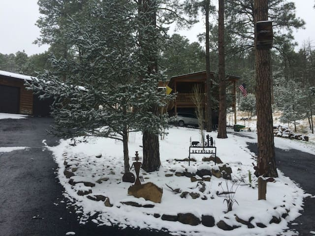Little Cabin in the Woods!  Escape Big City Life! - Ruidoso - Rumah