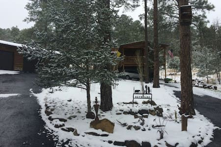Little Cabin in the Woods!  Escape Big City Life! - Ruidoso