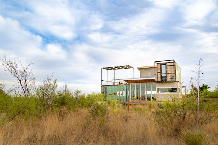 Hermosa Container Home: 1st Floor