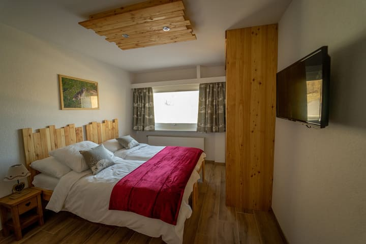 "Studio ""The Deer"" to the eart of Quatre-Vallées"