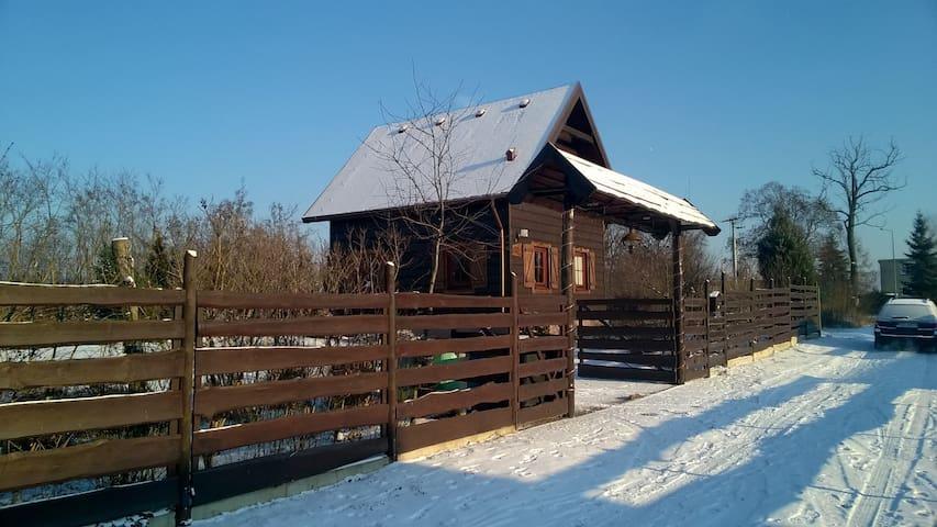 Drewniana Zagroda Dom Wakacyjny - Jaszkowo - Huis