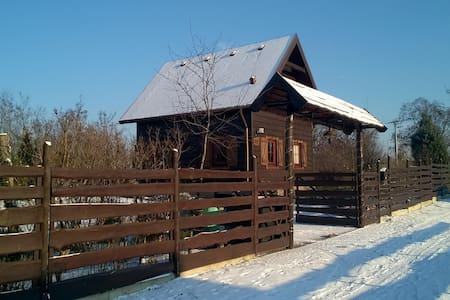 Drewniana Zagroda Dom Wakacyjny - Jaszkowo - Rumah