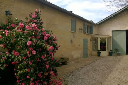 Bedrooms 9 kms from St Emilion - Saint-Magne-de-Castillon - Pensió