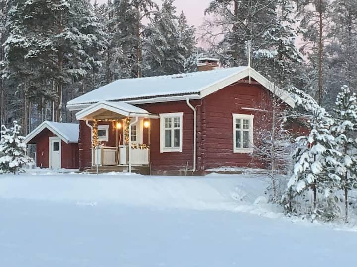 Timrad bagarstuga, Umeå Tavelsjö Heleneborgs Gård