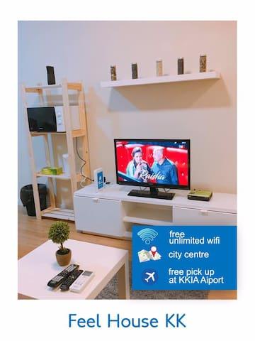 Feel House Kota Kinabalu CBD Suite