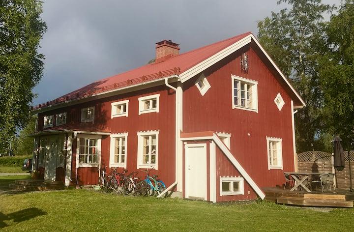 Lake Front Farm House