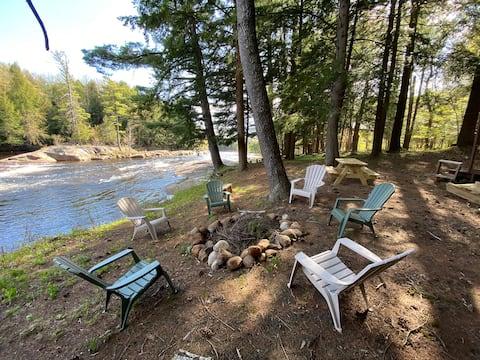 Moose River Rapids Cabin
