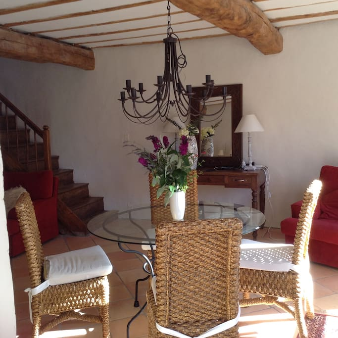 The lounge/sitting room, opening onto balcony