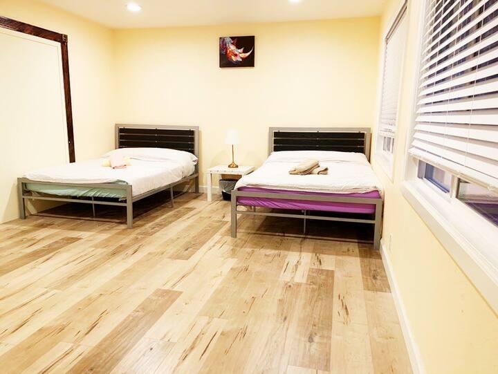 ❤️#1 Clean, Comfy, Private Bedroom - Disneyland