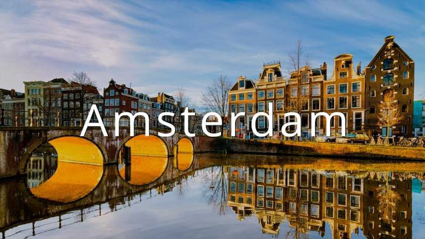 A perfect centre location, wonderful balcony, WIFI - Amsterdam - Daire