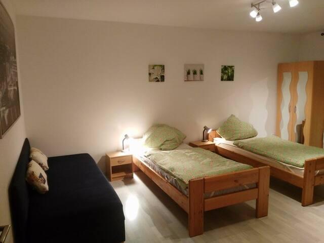3-room fair apartment / 3-Zimmer-Messe Wohnung - Nürnberg - Appartement