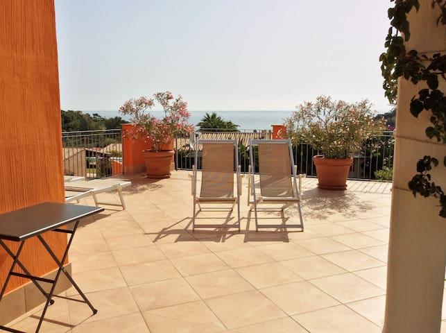 Terrazza vista mare - Tertenia - Apartment