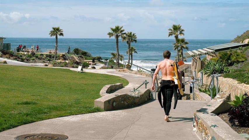 Solana Beach Surfer Studio