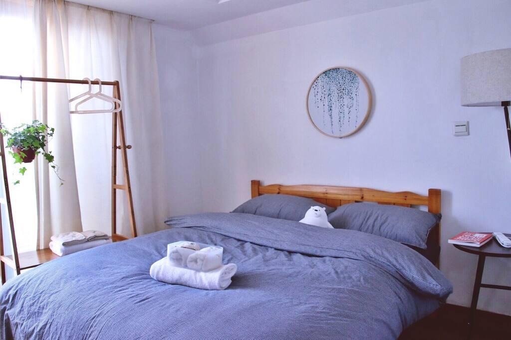 你的房间  床品、毛巾每客一换