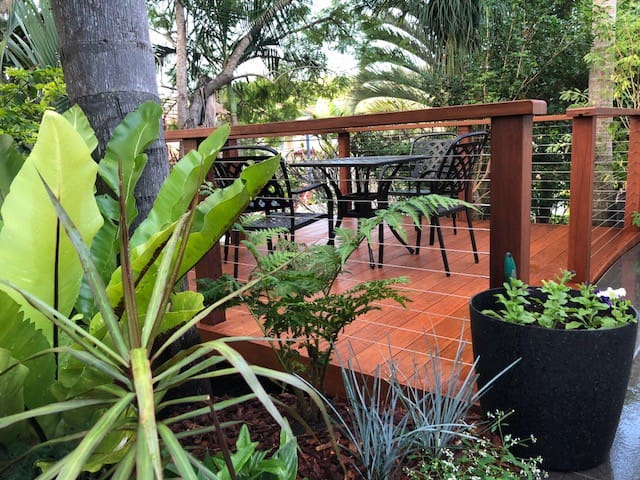 Enjoy our outside Deck Area