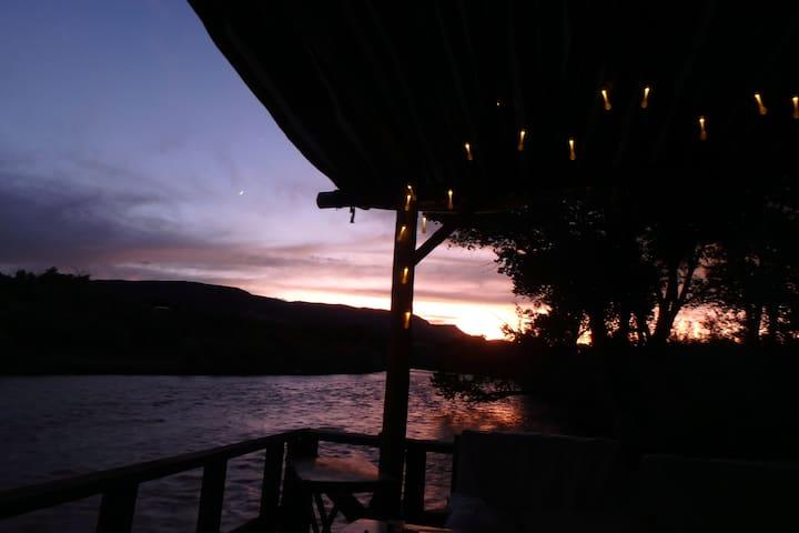 Tipi at River Camp