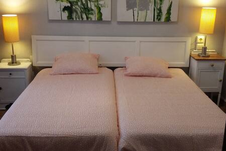 Habitación doble con baño privado. - Rocafort - Hus